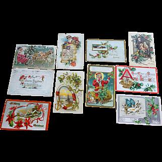 Postcards Christmas 10 cards                No. 3