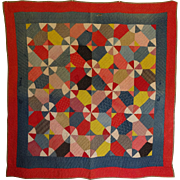Quilt ~ Antique, Bright, happy, fun design ..maybe a cutter