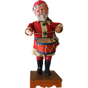Old Wind-up Santa Claus--Japan somewhat RARE