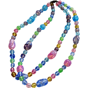 Glass Beads- Pretty Pastel Springtime colors opalescent