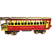 Ives Railroad Passenger Car 1691