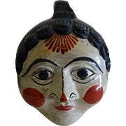 Coin Bank - Tonola/Tlaqueapaque Mexican Head c. 1970