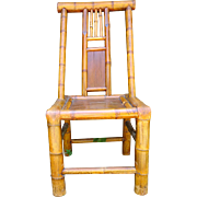 Bamboo Chair /vintage Chinese