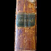 1806 Alcoran 1st American Edition  Alcoran of Mahomet