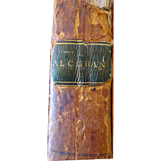 1806 Alcoran 1st American Edition  Alcoran of Mahomet - Red Tag Sale Item