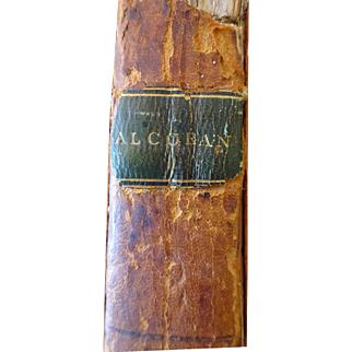 1806 Alcoran 1st American Edition  Alcoran of Mahomet