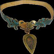 Unique Belt Buckle in the style of Casa Maya /Hubert Harmon