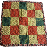 19th c Doll Quilt  Authentic