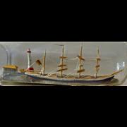 Ship in a bottle 1960