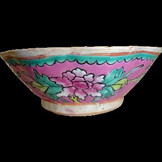 Chinese Bowl - Bright Colors Folkish