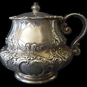 Old Gorham Repousse Mustard Pot