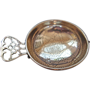 Tea Strainer - pretty perforation design