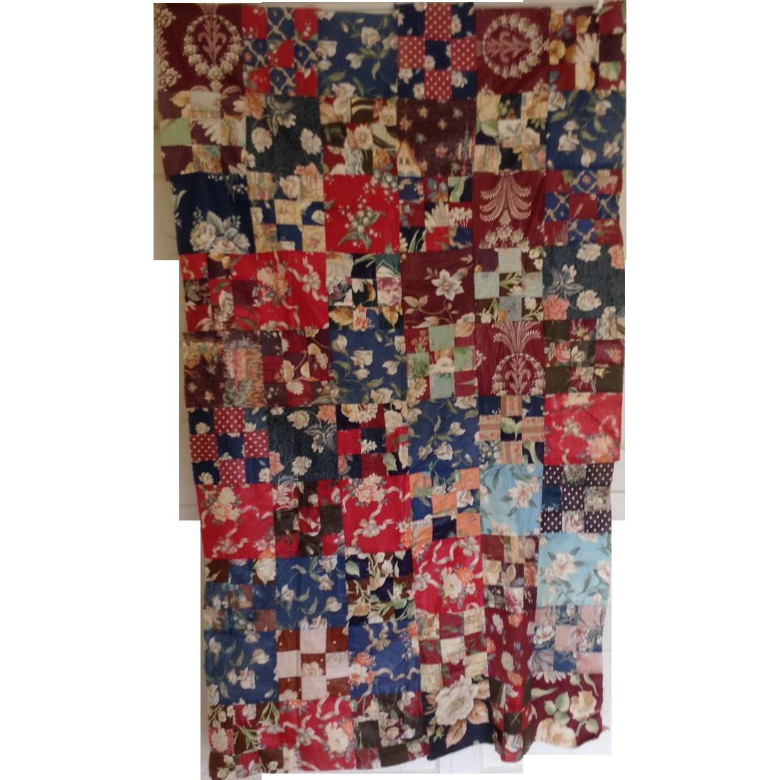 Vintage Quilt Top 121