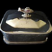 Reed & Barton Sardine Box- Silverplate c. 1868