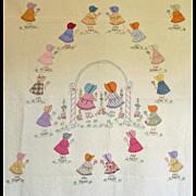 30's Quilt ~ Sunbonnet Sue and Friends ~Adorable
