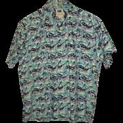 Avi Collection By Kahala Hawaiian Shirt Size L