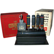 20% OFF Koh-I-Noor Rapidograph Drawing Fountain Pens Boxed
