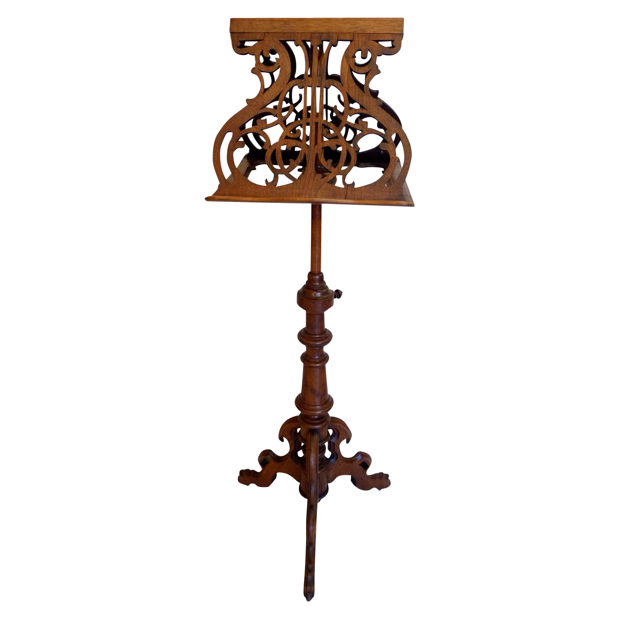 Music Stand American Victorian C 1870 From Rubylane sold