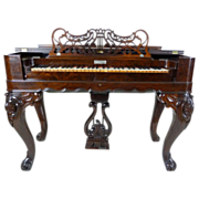 Melodeon Rosewood American Victorian c. 1860