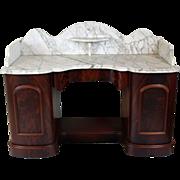 Vanity Marble Top English c. 1860