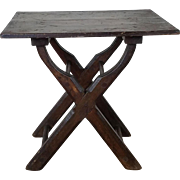 Barrel Stand Table c. 1880