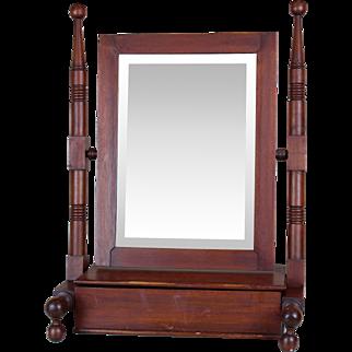 Dresser / Shaving Mirror c. 1880