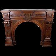 Fireplace Mantel  American Victorian c. 1870