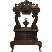 Column Parlor Stove made by Johnson & Cox, Troy, NY  1840s