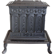 Parlor Stove Union Air Tight pat. 1851