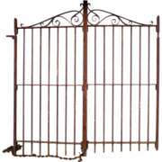 Wrought Iron Garden Gates 19th Century Baltimore