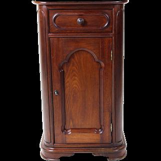 Marble Top Nightstand American Victorian c. 1880