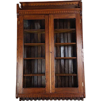 Wall Cabinet American Victorian c. 1880