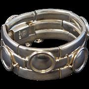 William Spratling Double Bamboo Sterling Bracelet TS-24