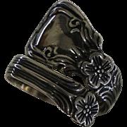 Sterling Silver Avon Spoon Ring ~Sz 8