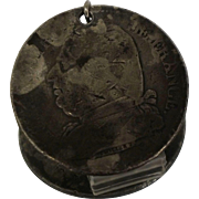 5 Franc 1816 Sterling Silver Coin Pendant Charm