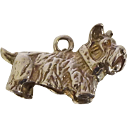 Scottie Dog Sterling Charm Scottish Terrier