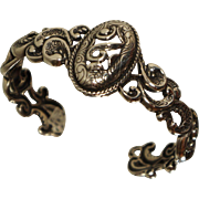 Carolyn Pollack Sterling Cuff Bracelet