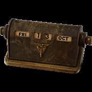 1942 West Point Perpetual Desk Calendar USMA WW2
