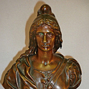 19th Century Bronze Sculpture Statue Athena Susse Foundry France