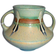 Roseville Pottery Monticello Vase Arts & Crafts Deco Era