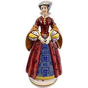 Mary Stuart Queen Of Scots Porcelain Figurine Paris Edme Samson Anchor Mark