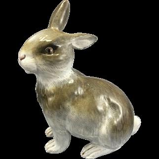 Meissen German Porcelain Bunny Rabbit Figurine
