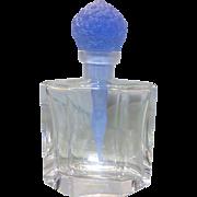 Czech Glass Perfume Scent Bottle Ltd Ed Female Form Stopper 81/750 W Box COA