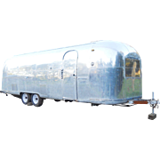 1966 Vintage Airstream Ambassador Land Yaht Silver Bullet Travel Trailer