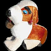 1950s Children's Saint Bernard Dog Huge Rare Carnival Fair Prize Benjie Stuffed Toy