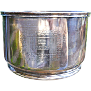 Silverplate THE PANTRY Portland OREGON Ice Bucket Wine Cooler