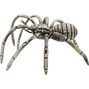 Signed Lalaounis Massive Sterling Silver Spider Sculpture 301 grams