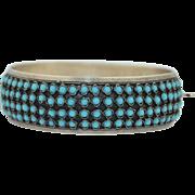 1000 Silver Snake Eye Bracelet 1940's/50's