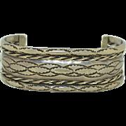 1950's Navajo Sterling Silver Bracelet