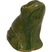 Penny Bank Ceramic Frog - Red Tag Sale Item